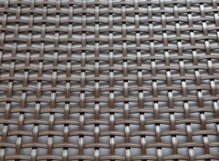Stainless Steel Woven Grille Reeded 3mm, 6mm