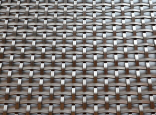 Stainless Steel Woven Grille Square 3mm with 6mm