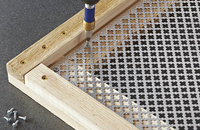 Using Brass Grilles for your DIY Projects